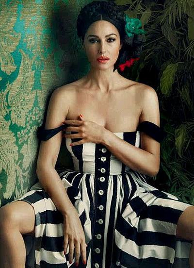 Моника Белуччи: красота в украинском стиле
