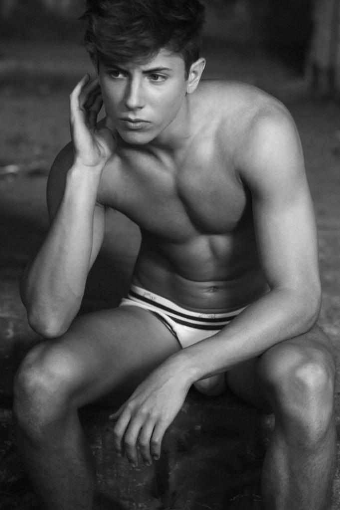 Парень модель Rhys Kosakowski