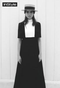 Фото - обворожительная красотка Эмили Ратажковски в октябрьском выпуске журнала InStyle 2015