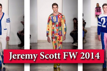 Фото - Jeremy Scott FW 2014 мужская мода