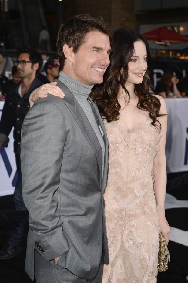 Андреа и Том Круз