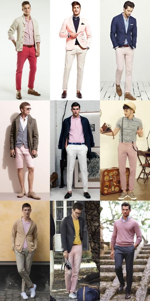 Мужская одежда: цвета в тренде 2014-15