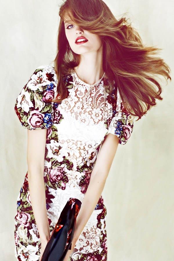 Фото - красивая девушка-модель