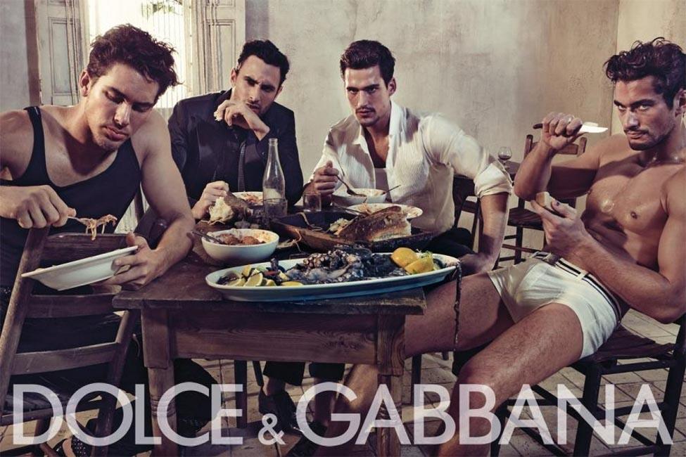 Фото сессия для Dolce & Gabbana