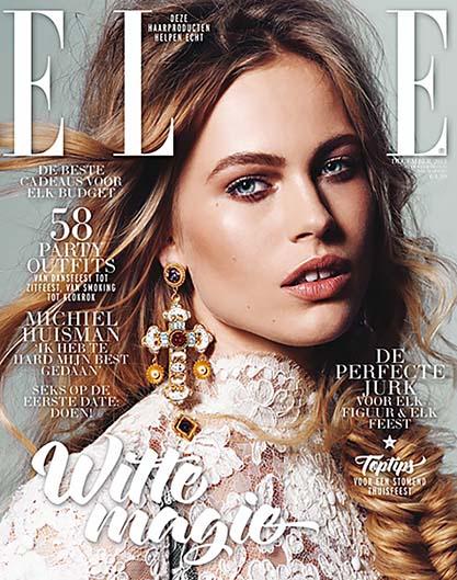 Ирис Бакер на обложке Elle