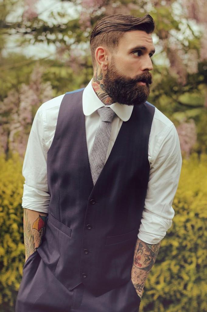 Мужская стрижка Андеркат