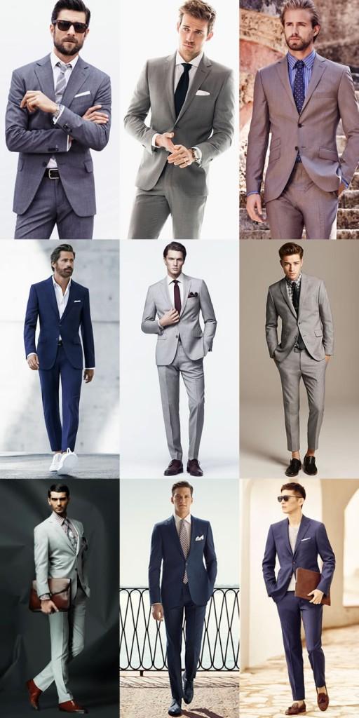 Мужчины в деловых костюмах