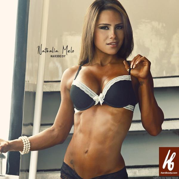 фитнес модель Наталия Мело