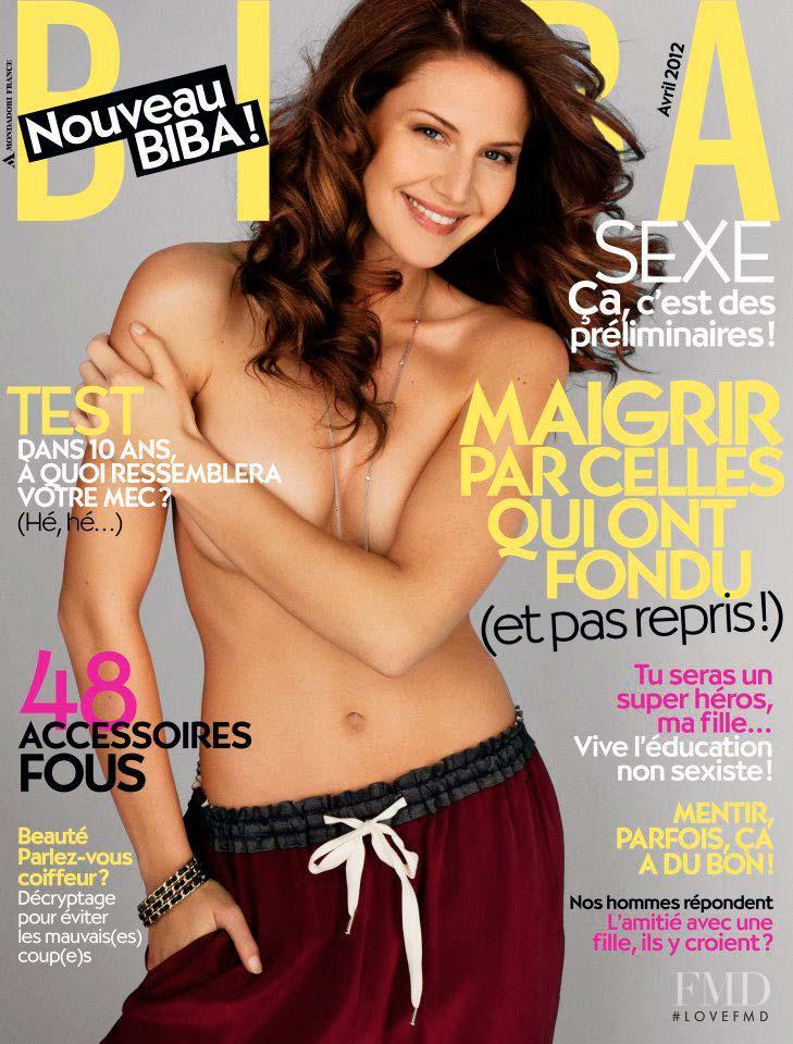 Анна Секулик на обложке французского журнала Biba