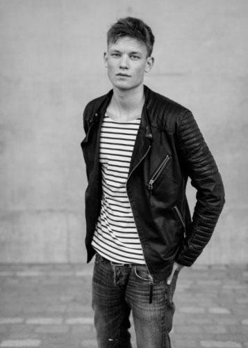 черно-белые фото парней Джон Вессер голландская модель