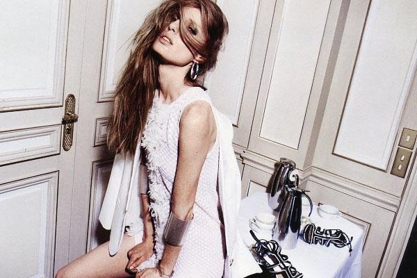 Американская модель Нелл Ребоу фото 5