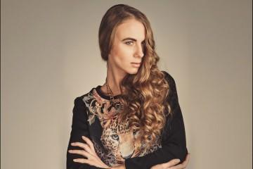 Девушка модель Екатерина Щербакова