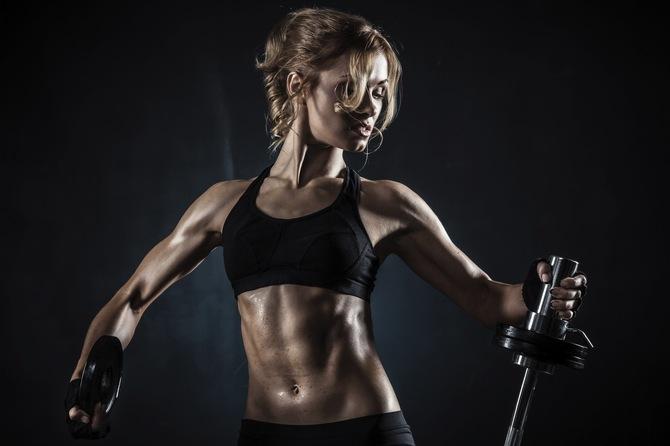 фитнес модели девушки