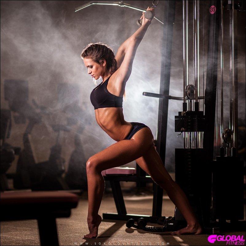 Девушки фитнеса секси фото