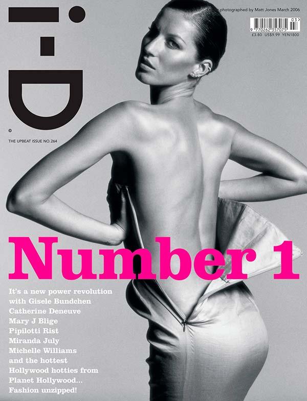 Жизель Бюндхен на обложке ID Magazine 2006