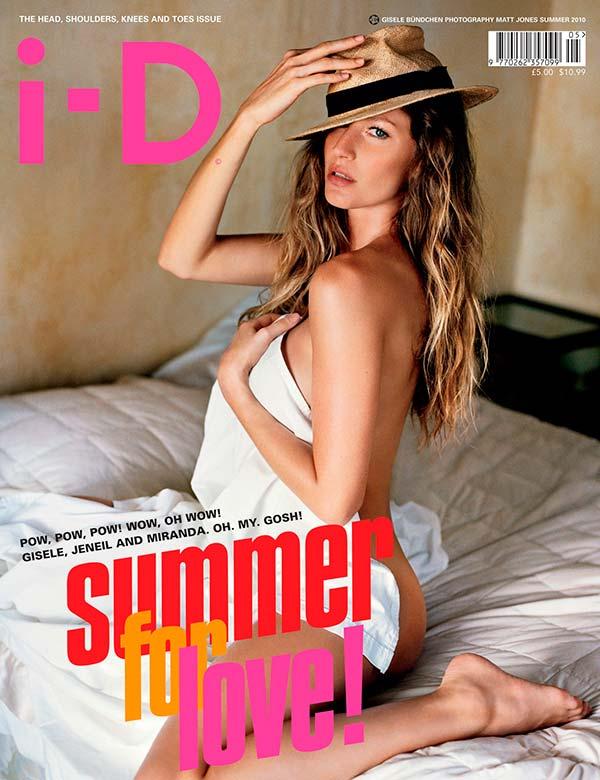 Жизель Бюндхен на обложке ID Magazine 2010