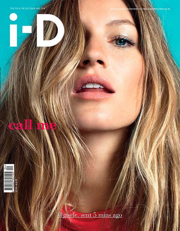Жизель Бюндхен на обложке ID Magazine 2011