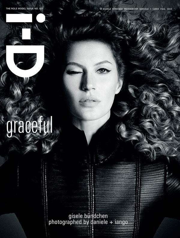 Жизель Бюндхен на обложке ID Magazine 2012