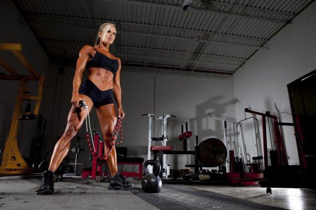 фитнес-модельЛарисса Рейс