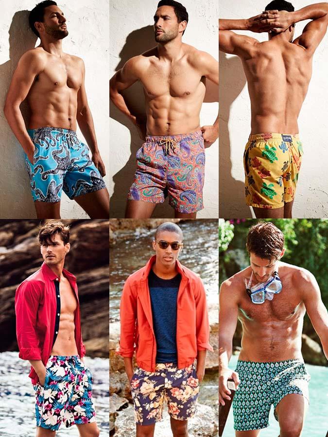Фото №2 - Плавательные шорты с принтами ярких тонов 2017