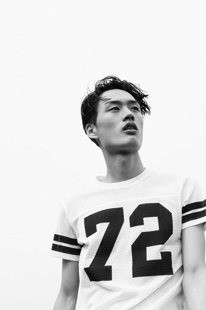 модели парни Азии 2015