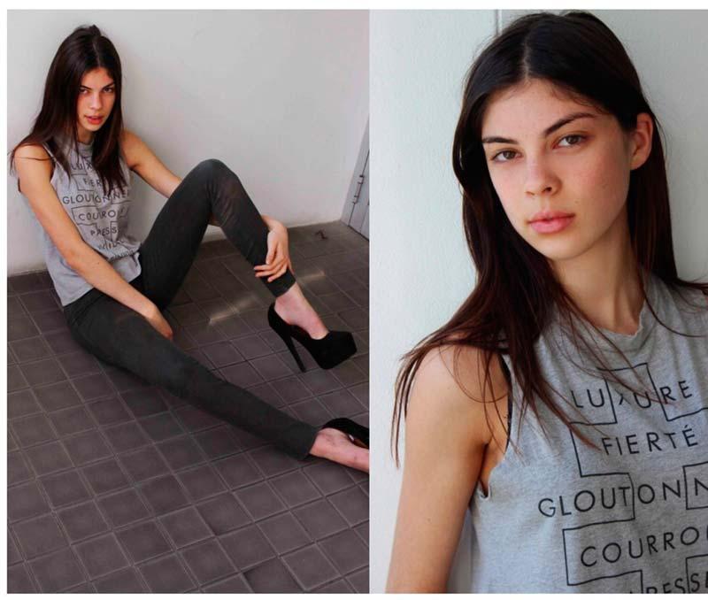 Фото - фэшн модель Азизи Доннели