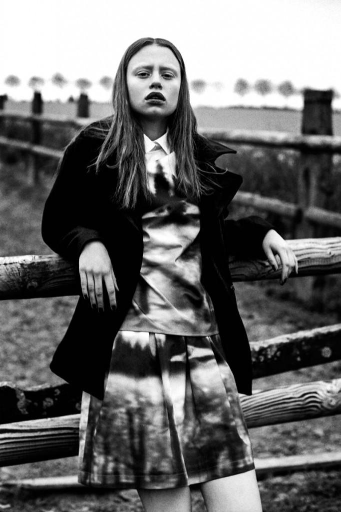 Фото  - модель Нора Лароссе