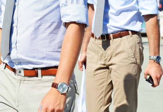 Фото - Тренд лета 2015 №4: Мужские брюки-чинос