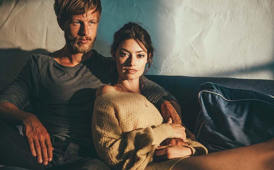 Фото - модель Анастасия Клафферт с мужем Деннисом