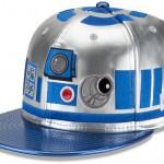Фото - бейсболка в виде дроида R2D2 Star Wars от New Era