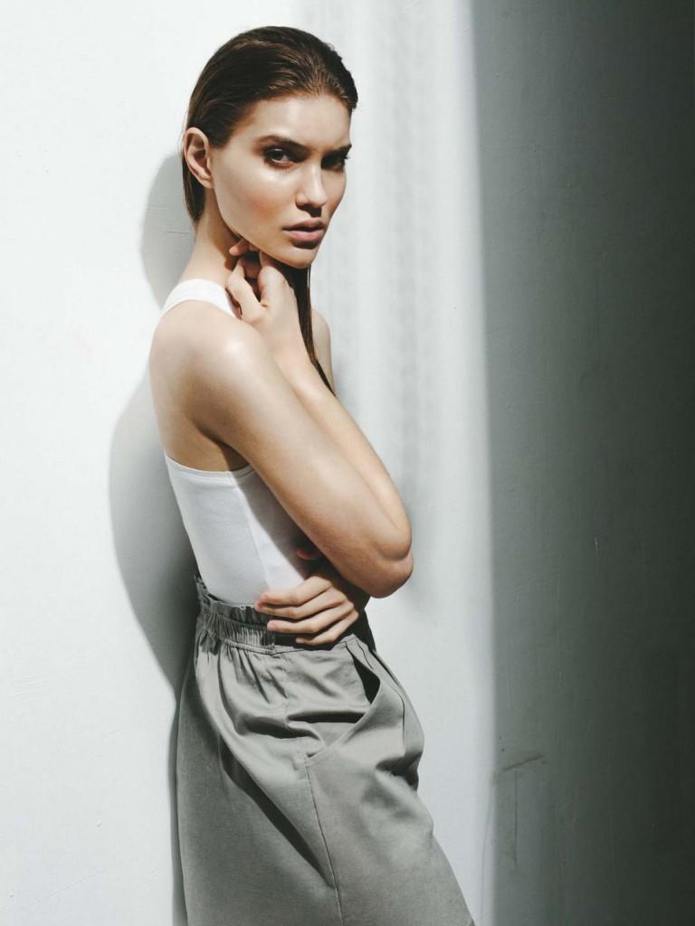 Фото - русская модель Евгения Федорова