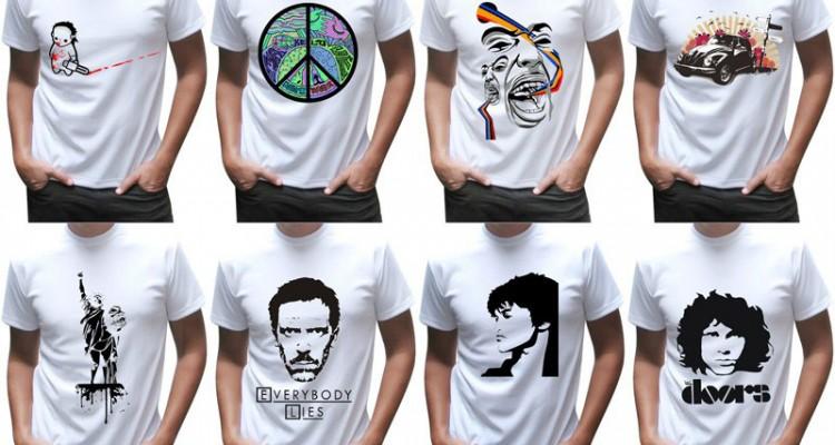 Фото - белые футболки для сублимационного рисунка