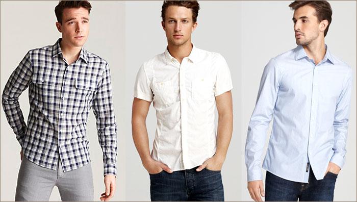 Какой должна быть мужская рубашка?