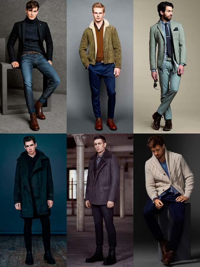 Фото - мужская обувь: массивные ботинки