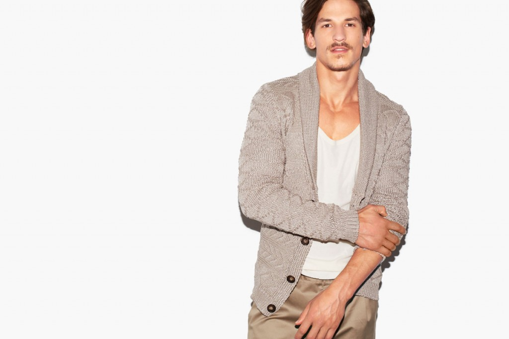 Мужская мода на осень 2015 - Кардиган