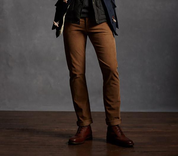 Мужская мода на осень 2015 - брюки чинос