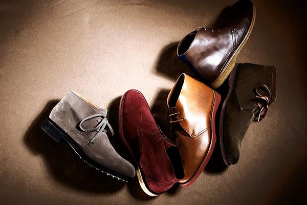 Мужская мода на осень 2015 - мужские ботинки (дезерты)