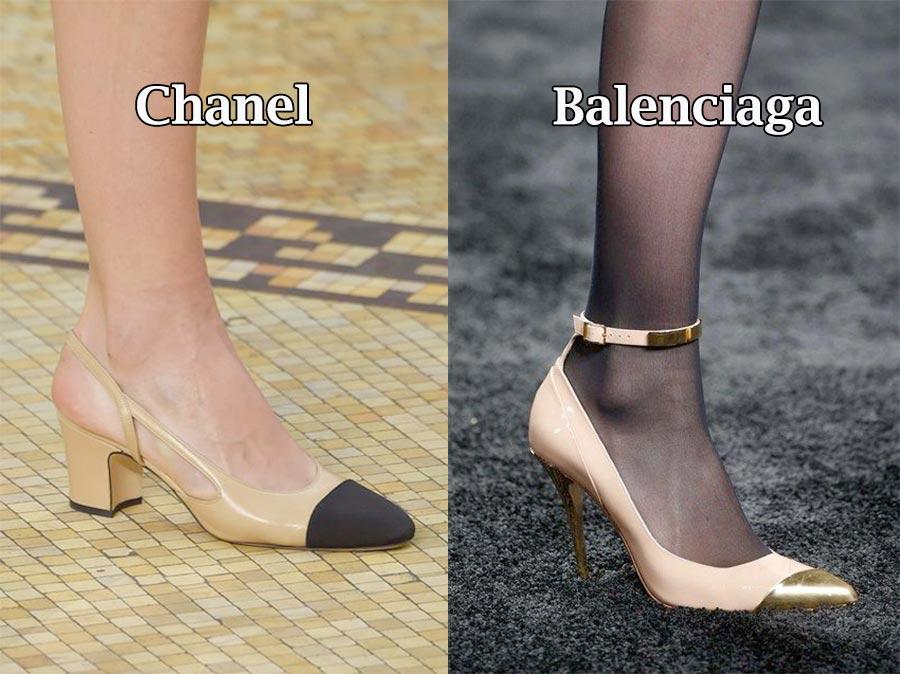 Фото - осенний тренд женской обуви: Сочетание оттенка обуви с ногами