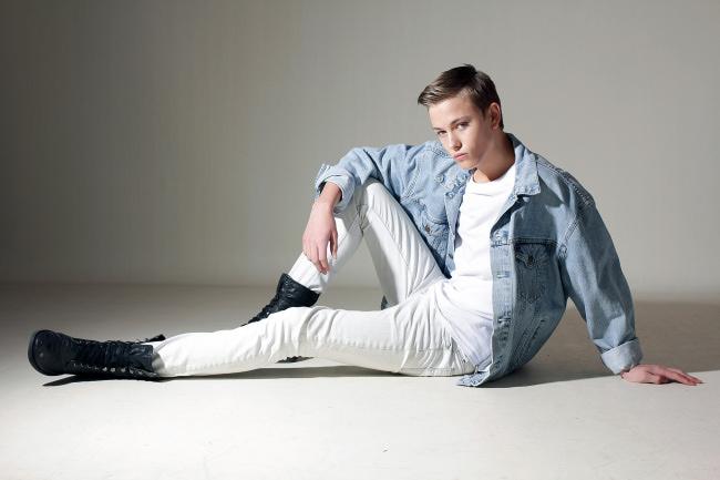 Фото - парень-модель из Голландии