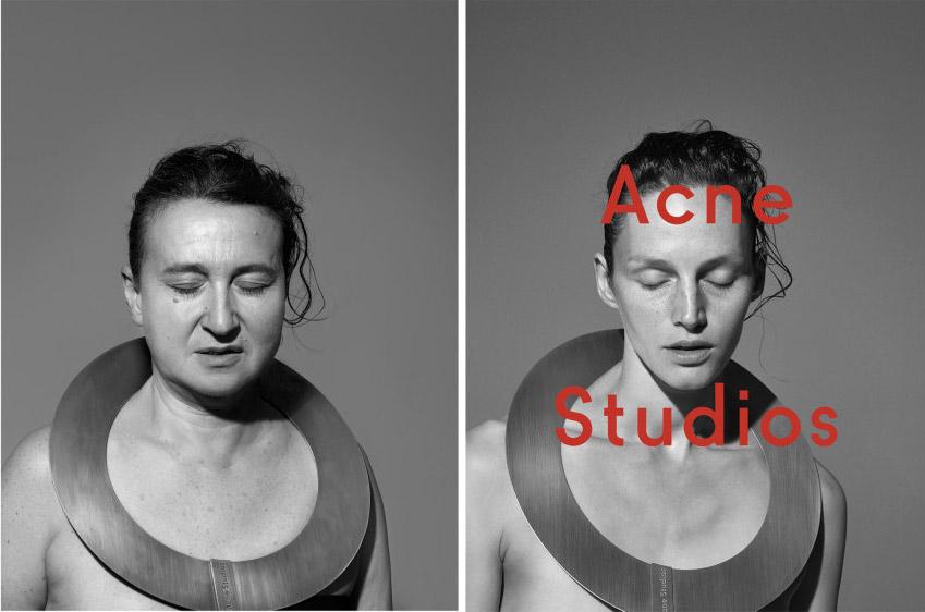 Фото - пародия на моду: Acne Studios