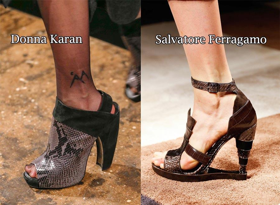 Фото - модная обувь Salvatore Ferragamo Donna Karan 2016