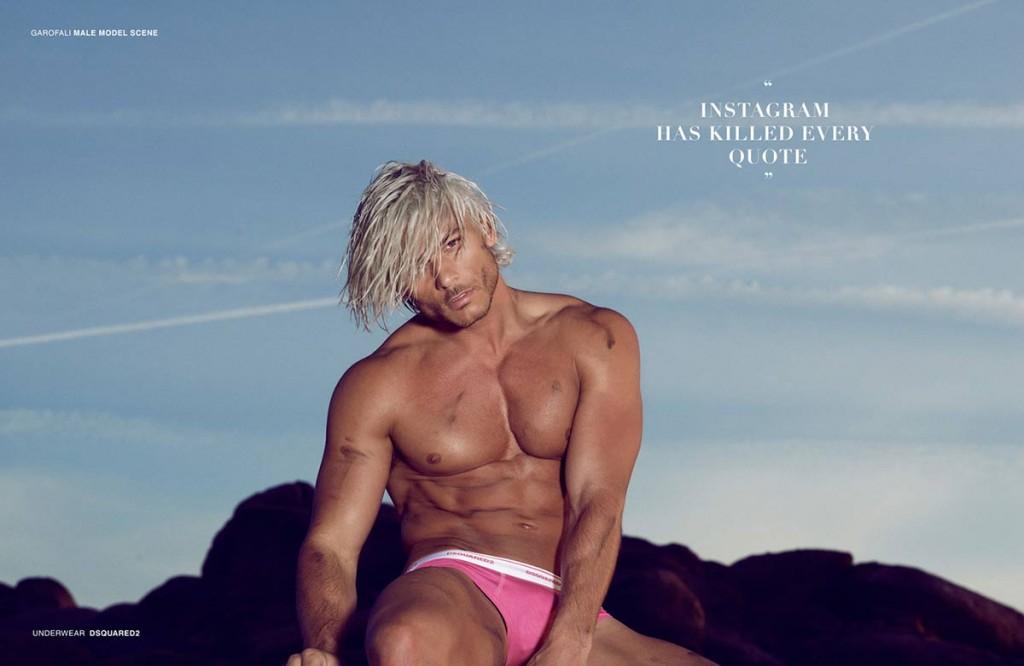 Фото - топ-модель Даниэль Гарофали