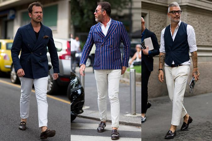 Фото 2 - тренд 2016: белые штаны