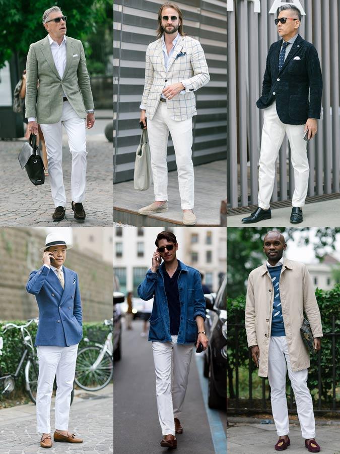 Фото 1 - тренд 2016: белые штаны