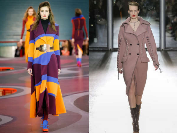 Фото - пальто в тренде 2015: яркие цвета