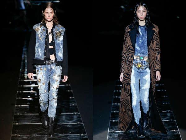 Фото - женские джинсы с декором