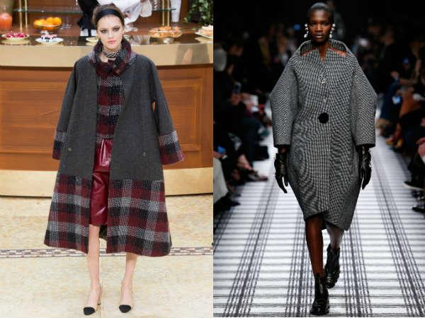 Фото - Габаритные женские пальто