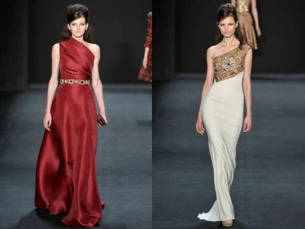 Фото - длинные платья в пол от Badglay Mischka