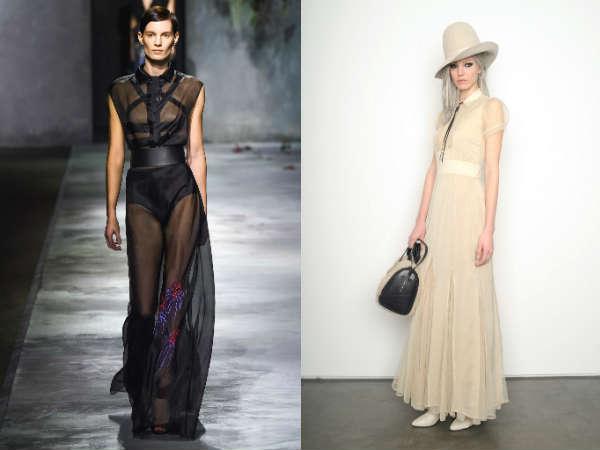 Фото - модные макси платья