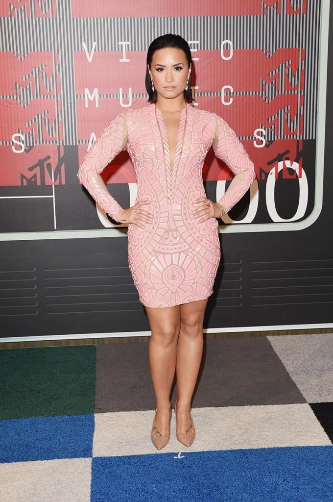 Фото - Деми Ловато на MTV Video Music Awards 2015